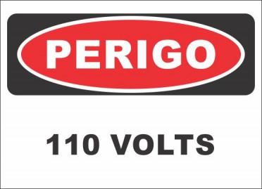 PERIGO - 110 VOLTS