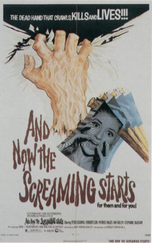 POSTER - ...AND NOW THE SCREAMING STARTS