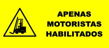 APENAS MOTORISTAS HABILITADOS