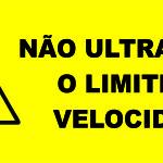 Não Utrapasse o Limite de Velocidade - etiquetas-para-empilhadeiras-57-x-127cm