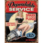 Dependable Service - placa-ps-20-x-30