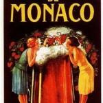 Lá Célèbre Bière de MONACO - placa-ps-20-x-30